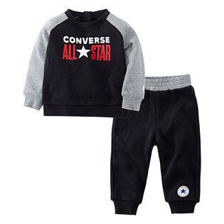Baby Boys' [12-24M] Crew Sweatshirt + Jogger Two-Piece Set