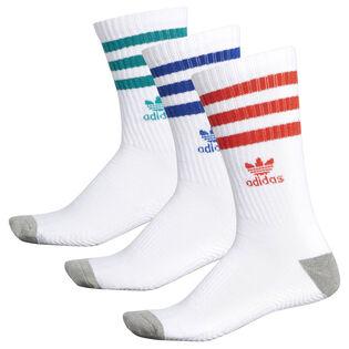 Unisex Roller Crew Sock (3 Pack)