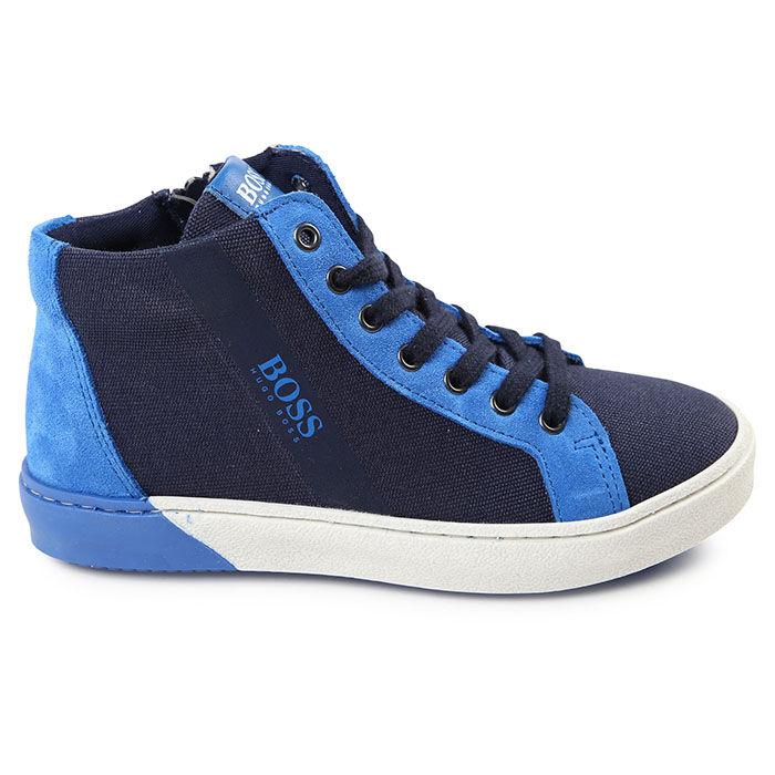 Juniors' [1-4.5] Mixed High Top Shoe