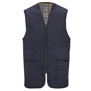 Men's Quilted Waistcoat/ Zip-In Liner