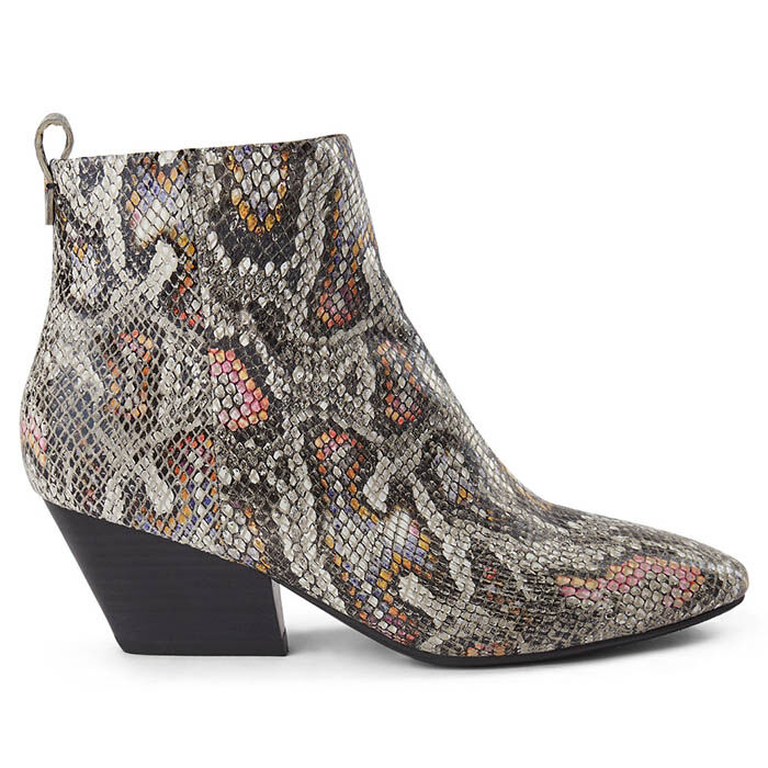 Women's Cleo Snake Ankle Boot