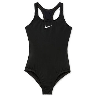 Junior Girls' [7-16] Solid Racerback Sport One-Piece Swimsuit