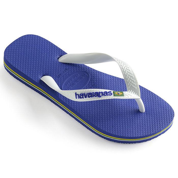 Juniors' [11-4] Brazil Logo Flip Flop Sandal