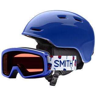 Juniors' Zoom Helmet + Rascal Goggle Combo Set [2020]