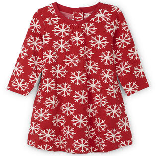 Baby Girls' [6-24M] Falling Snowflakes Swing Dress