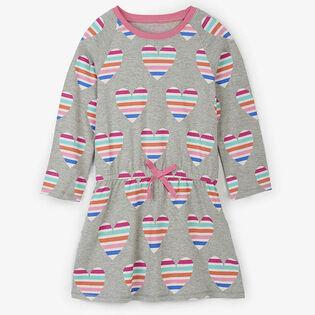 Robe à coeurs multicolores pour filles [2-6]