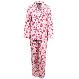 Ensemble pyjama deux pièces Ski Hill pour femmes