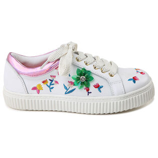 Juniors' [10-3] Embroidered Sneaker