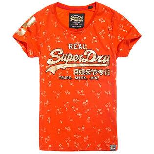 Women's Foil Floral T-Shirt