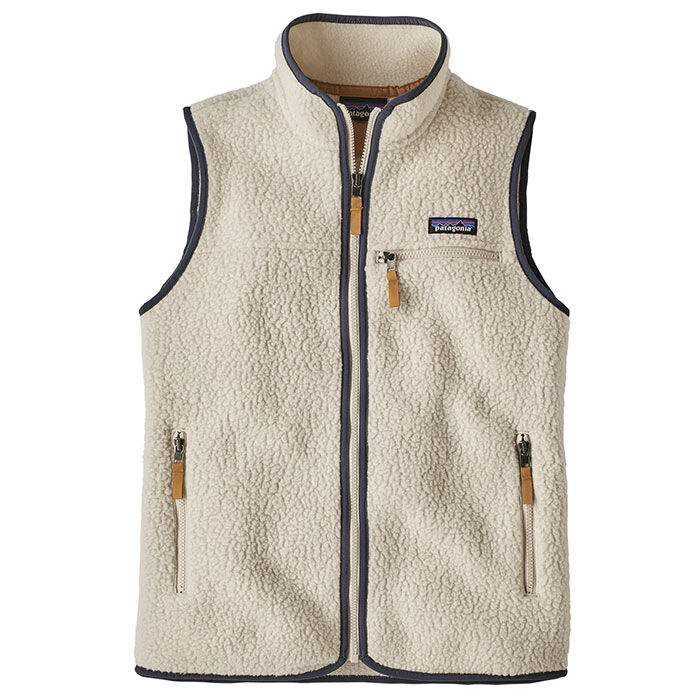 Women's Retro Pile Fleece Vest