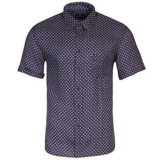 Men's Printed Linen Shirt