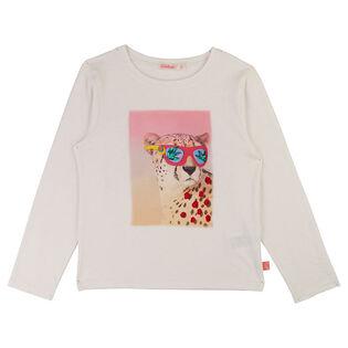 Girls' [3-6] Big Cat Jersey T-Shirt