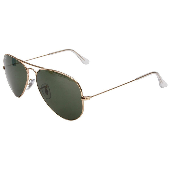 Aviator Large Metal Sunglasses