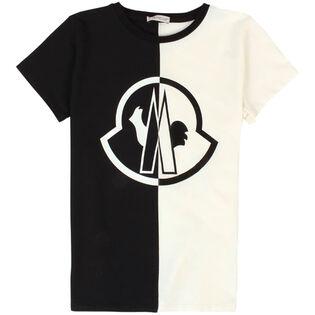 Junior Girls' [8-14] Blocked T-Shirt