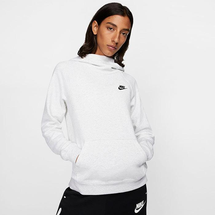 Chandail à capuchon Sportswear Essential avec col montant pour femmes