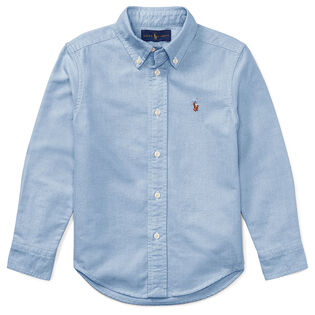 Toddler Boys' Oxford Shirt W/Pony Player