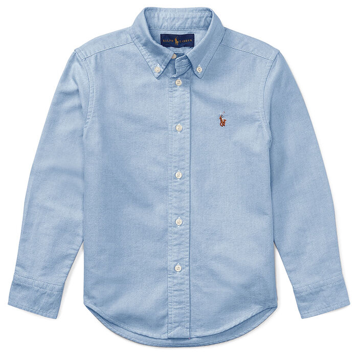 Boys' Oxford Shirt W/Pony Player