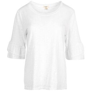 Women's Double Ruffle T-Shirt