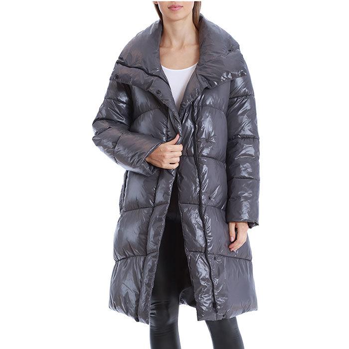 Women's Knee-Length Puffer Coat