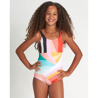 Junior Girls' [7-14] Easy On One-Piece Swimsuit