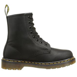 Men's 1460 8 Eyelet Boot (Greasy Black)