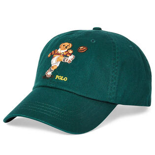 Men's Rugby Bear Cotton Chino Cap