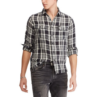 Men's Classic Fit Plaid Workshirt