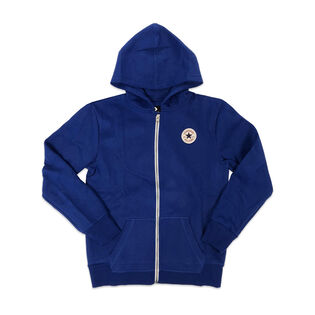 Junior Boys' [8-20] Chuck Taylor Patch Core Zip Hoodie