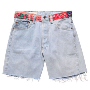 Women's Reworked Denim Short