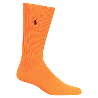 Men's Neon Slouchy Crew Sock