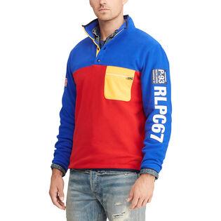 Men's Hi Tech Colourblocked Pullover Sweatshirt
