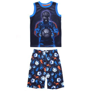 Junior Boys' [7-14] Soccer Two-Piece Pajama Set