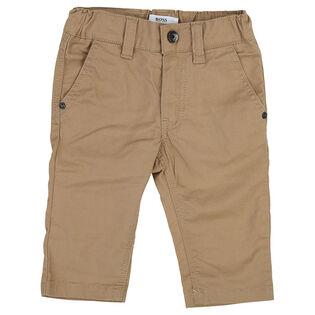 Boys' [12M-3Y] Cotton Twill Pant