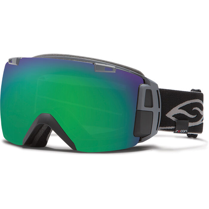 I/O Recon Goggles (Black/ Green Sol X)