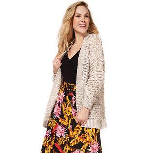 Cardigan ouvert en tricot pour femmes