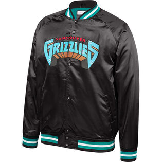 Men's Vancouver Grizzles Lightweight Satin Jacket