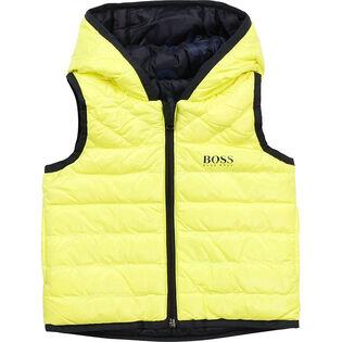 Boys' [3M-3Y] Reversible Puffer Vest