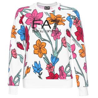 Women's Floral Logo Sweatshirt