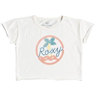 Junior Girls' [8-16] Palmy Neon Cropped T-Shirt