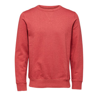 Men's Basic Crew Neck Sweatshirt