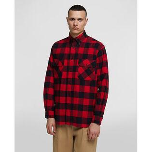 Men's Alaskan Buffalo Flannel Shirt