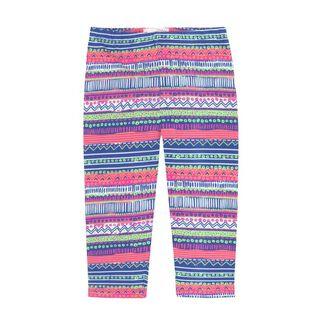 Girls' [3-6] Printed Capri Legging