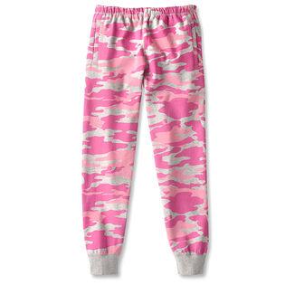 Pantalon de jogging camo à coupe ajustée pour femmes