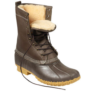 "Men's 10"" Shearling-Lined Bean Boot"