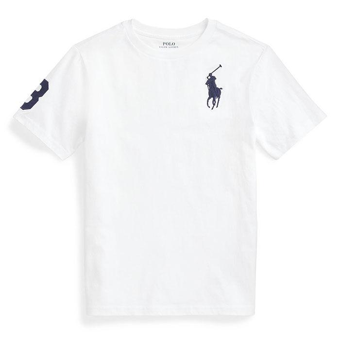 T-shirt Big Poney en jersey de coton pour garçons juniors [8-20]