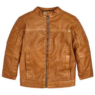 Boys' [2-8] Faux Leather Jacket