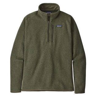 Men's Better Sweater® Quarter-Zip Fleece Top