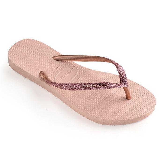 Sandales de plage à paillettes Slim Glitter pour femmes