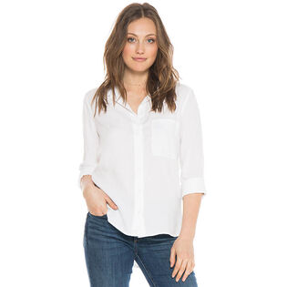 Women's Shirt Tail Button Down Shirt