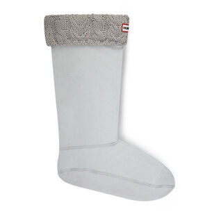 Women's Dual Cable Knit Boot Socks
